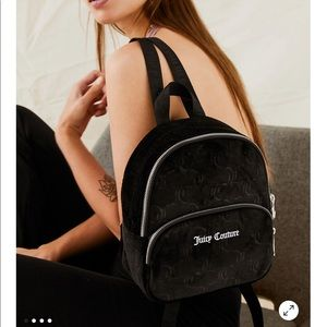Juicy Couture Velour Mini Backpack